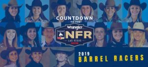 2019 Wrangler NFR Barrel Racers