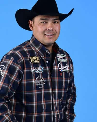 Erich Rogers – Round Rock, Ariz. ($73,999) 9-time WNFR qualifier 2017 World Champion Header