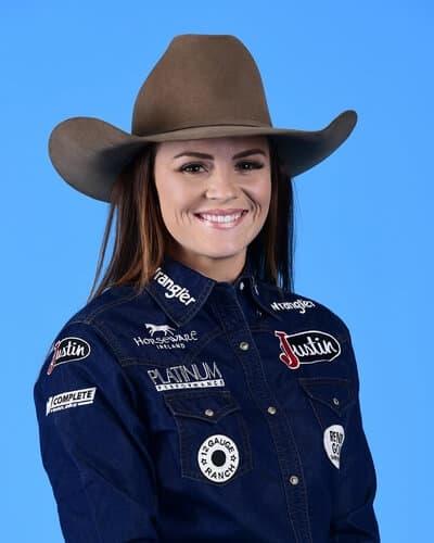 Ivy Conrado – Nowata, Okla. ($93,269) 4-time WNFR qualifier