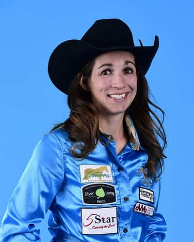 Jessica Routier – Buffalo, S.D. ($96,507) 2-time WNFR qualifier