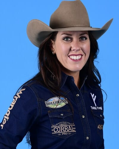 Nellie Miller – Cottonwood, Calif. ($154,611) 4-time WNFR qualifier 2017 World Champion