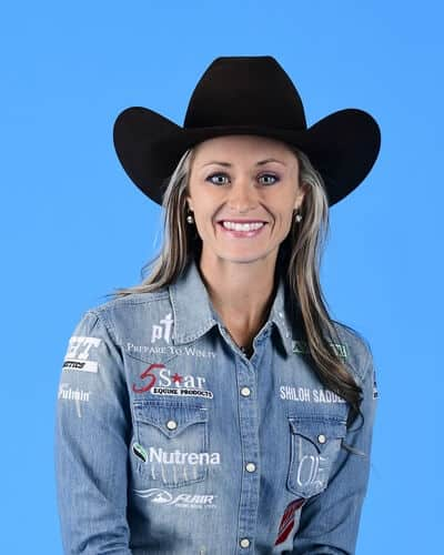 Stevi Hillman – Weatherford, Texas ($105,335) 4-time WNFR qualifier