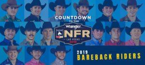 2019 Wrangler NFR Bareback Riders