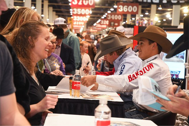 Wrangler NFR to Host Contestant Autograph Sessions Dec. 6-13