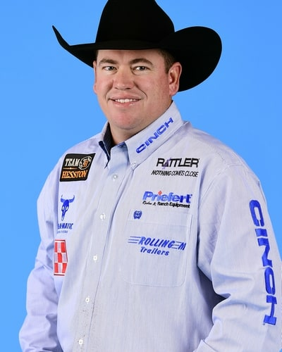 Travis Graves – Jay, Okla. ($103,165) 11-time WNFR qualifier