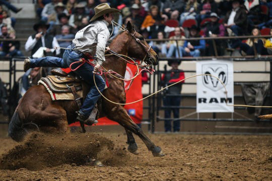 Ty Harris falls to fourth in PRCA with two rounds to go