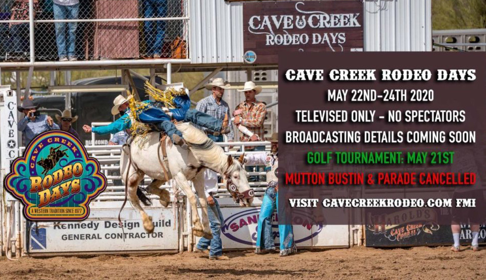 Cave Creek Rodeo Days 2020 live stream watch online