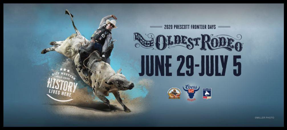 Prescott Frontier Days Rodeo 2020: World's Oldest Rodeo live stream channel