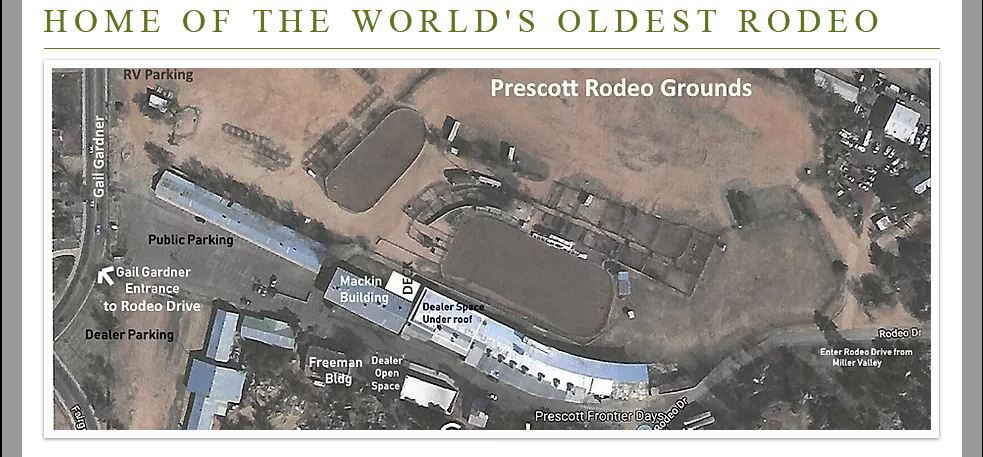 Prescott Rodeo Grounds in Prescott, Arizona