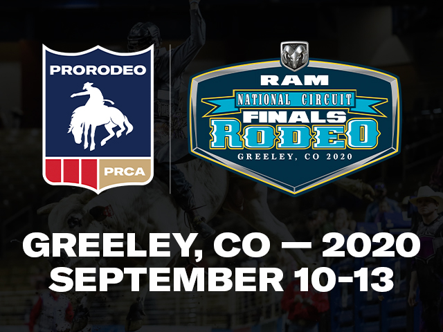 RAM National Circuit Finals Rodeo moving to Greeley for 2020