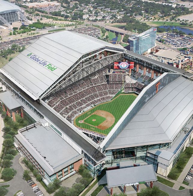 Globe Life Field in Arlington, Texas